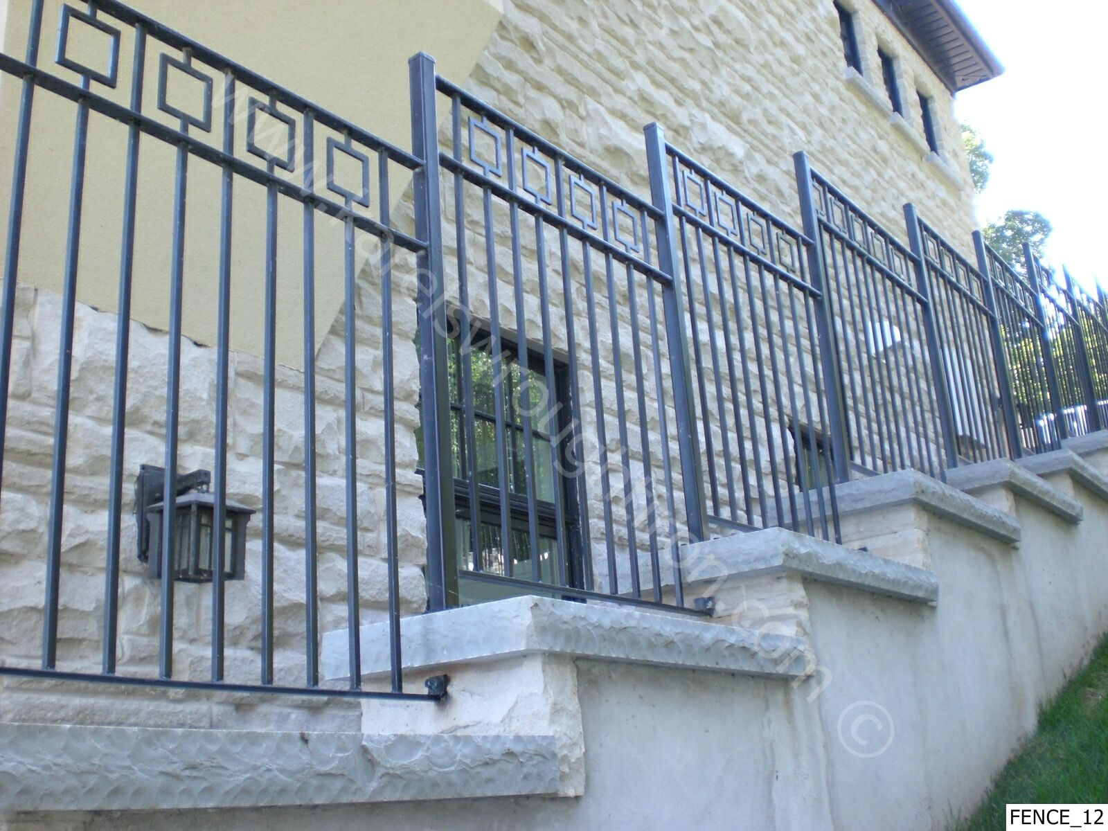 Wrought Iron Fencing Fence 12 Jpg