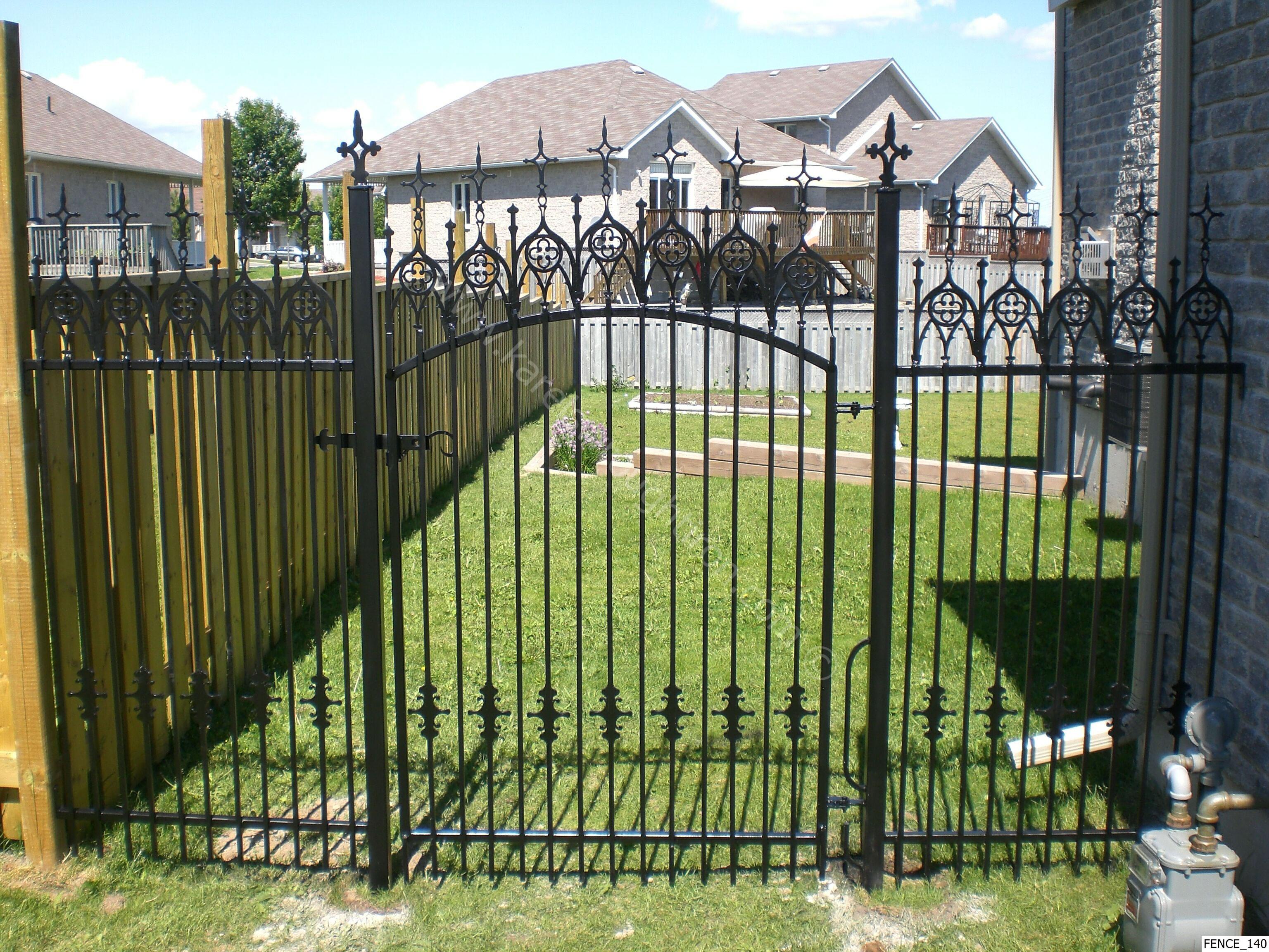 wallpaper iron fence - photo #2