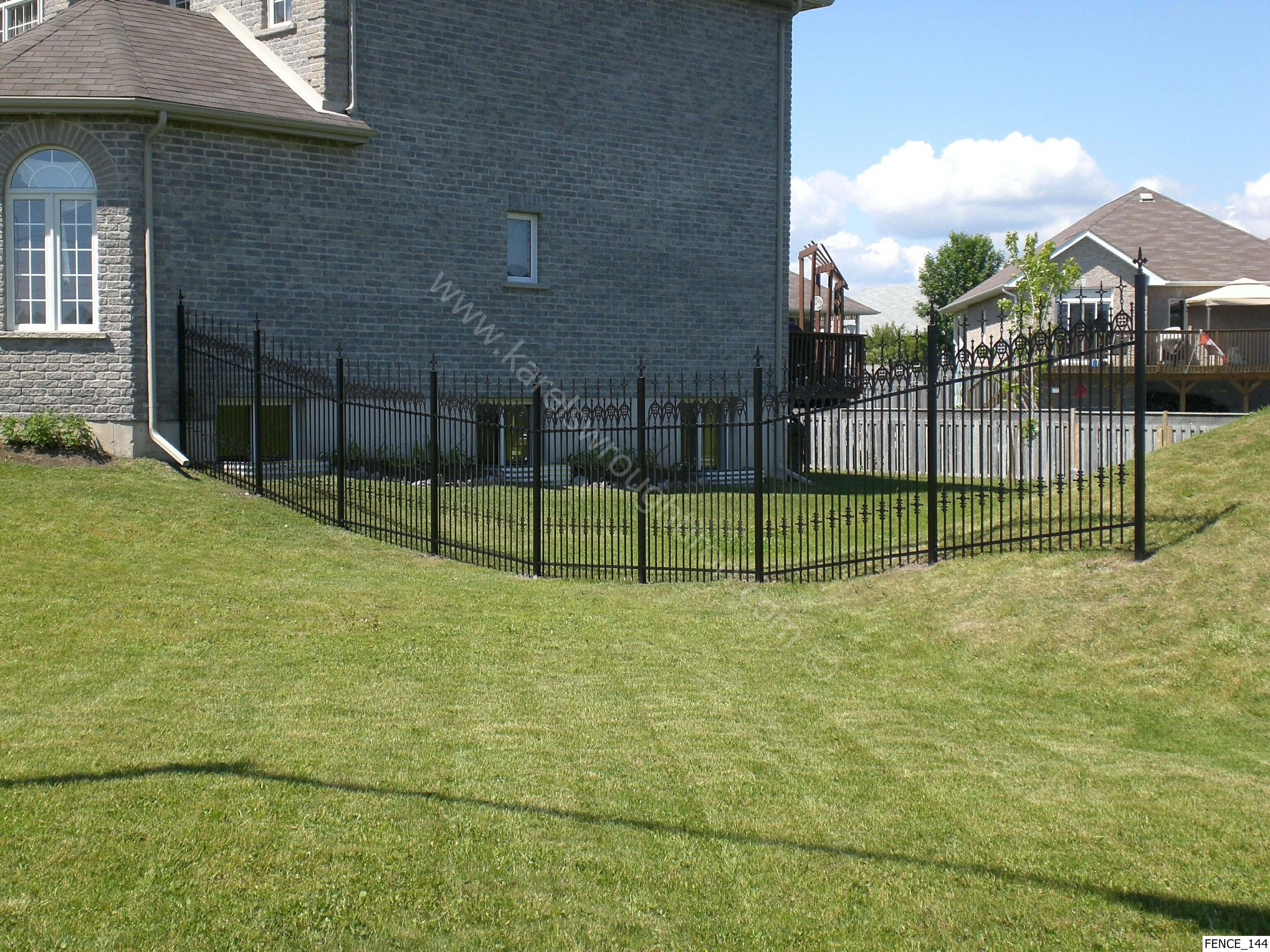 Image Result For Rod Iron Fence