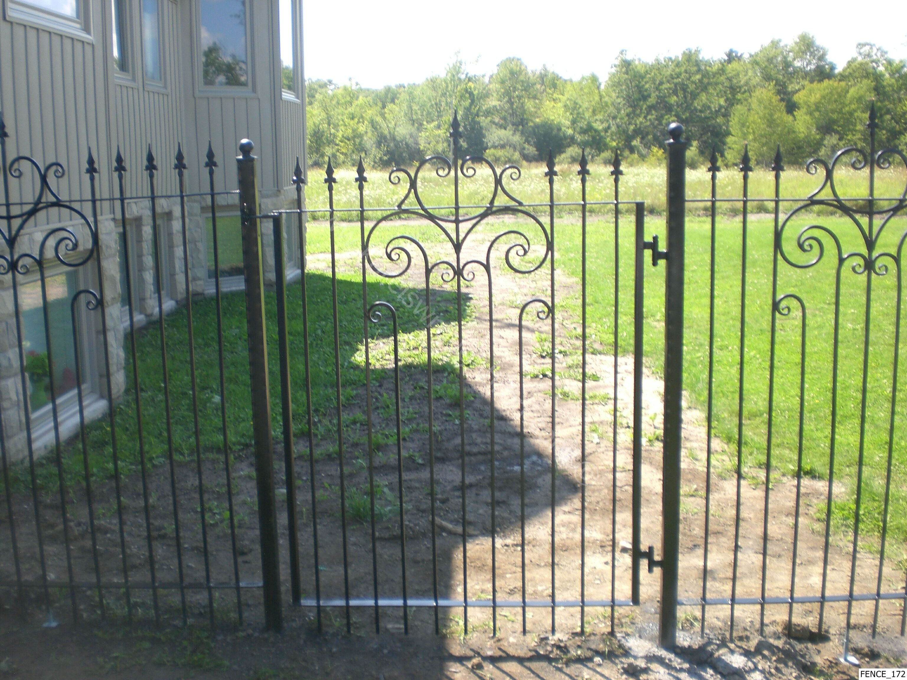 wallpaper iron fence - photo #7