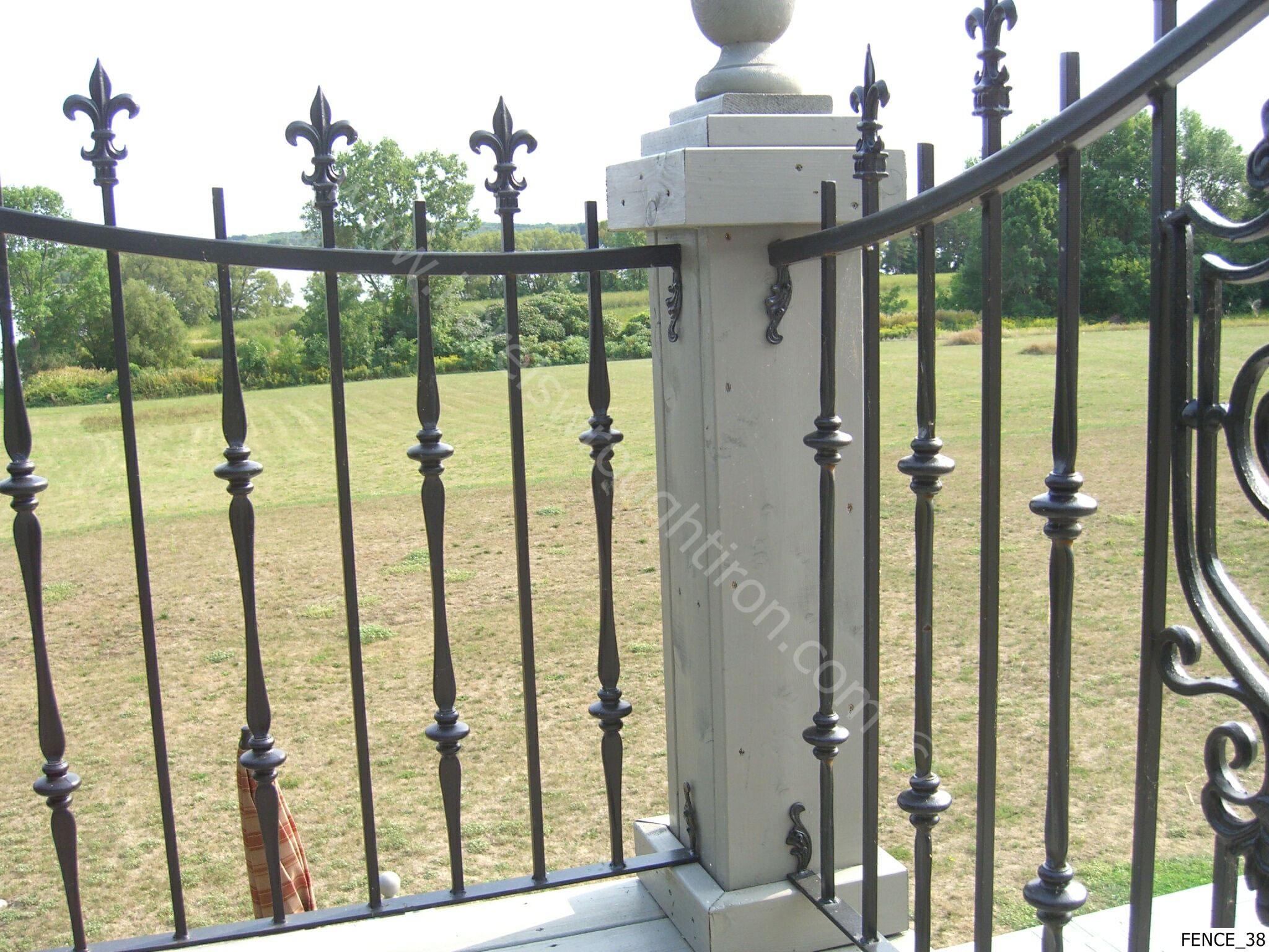 wallpaper iron fence - photo #18