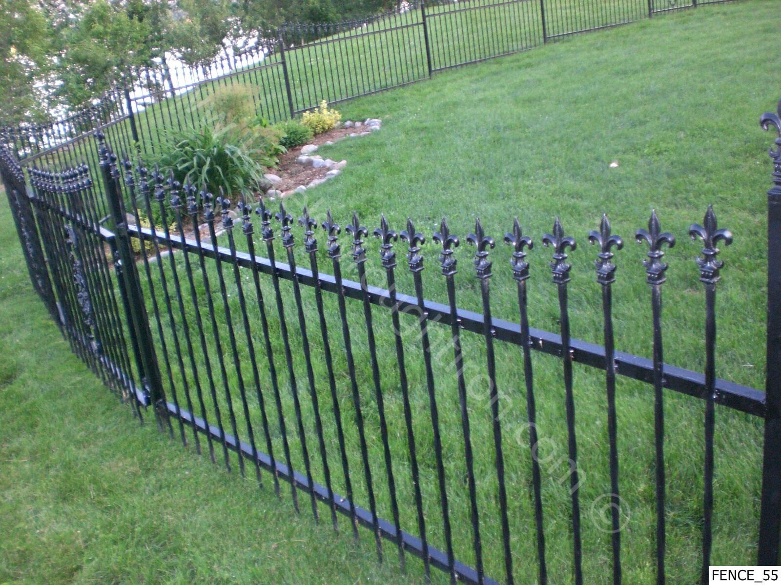 wallpaper iron fence - photo #5
