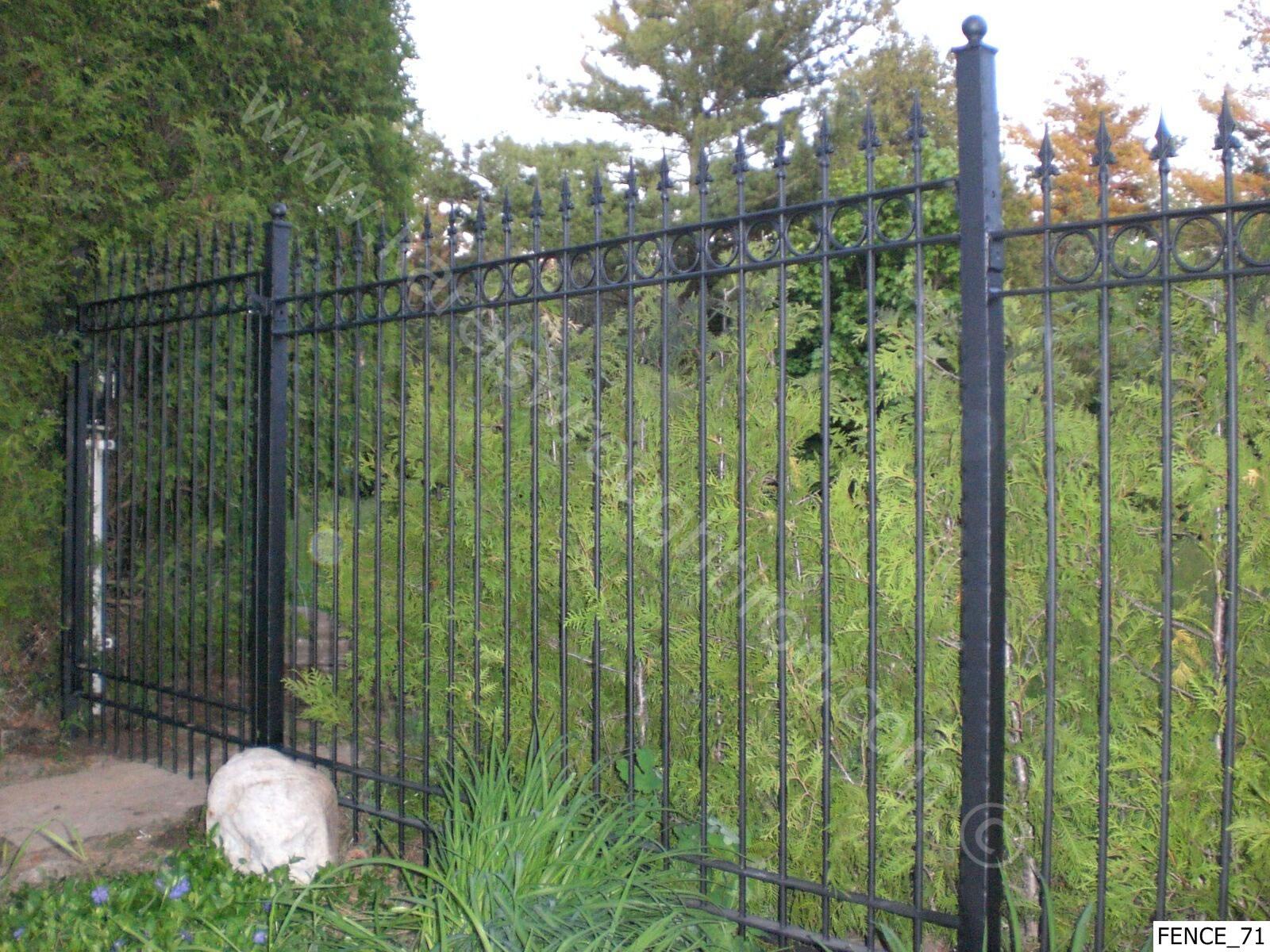 wallpaper iron fence - photo #20