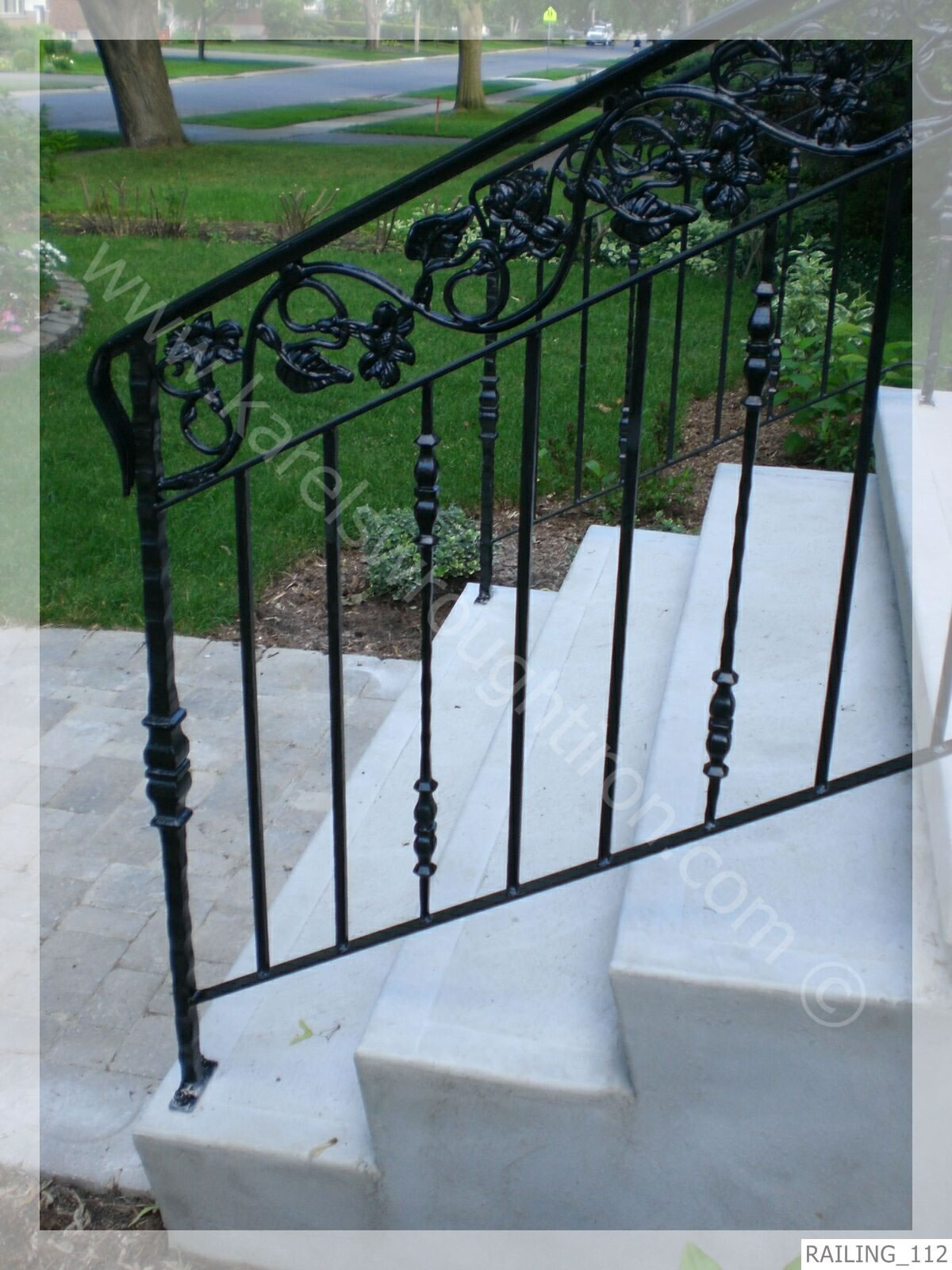 Image Result For Wrought Iron Railing